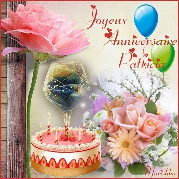 Joyeux Anniversaire Patricia